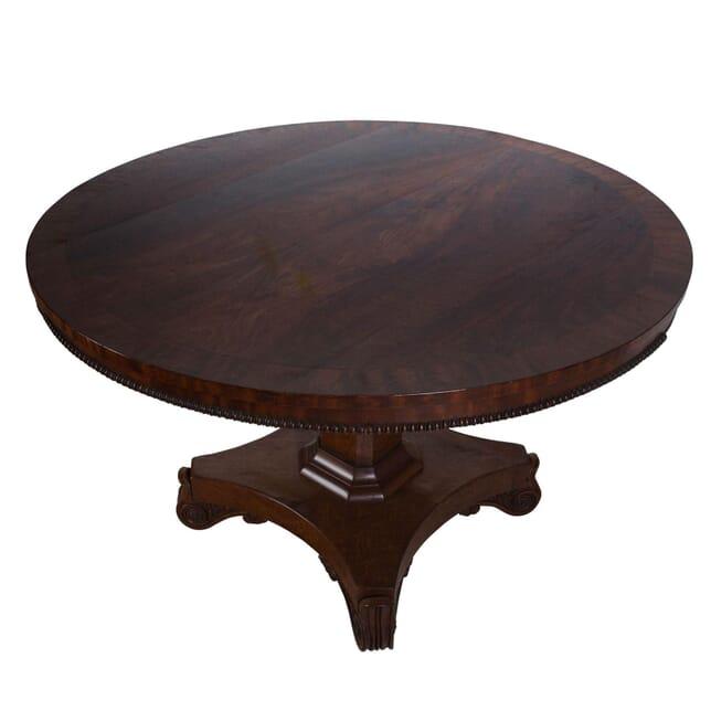 Regency Mahogany Centre Table TC2711956