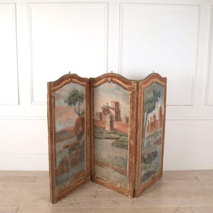 French 18th Century Canvas Screen OF0261410
