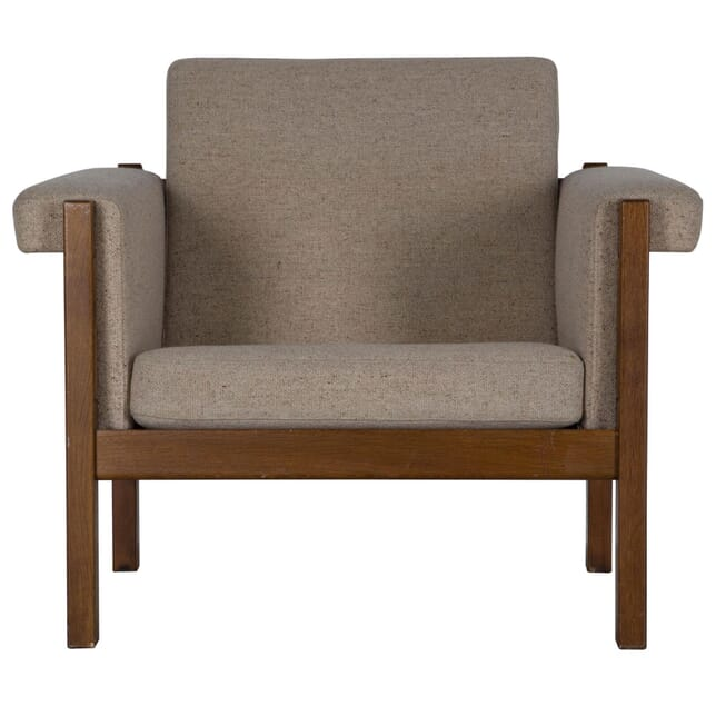 Oak Framed Armchair by Hans Wegner for Getama CH225434
