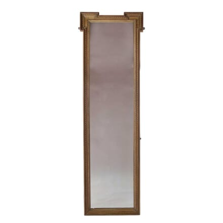 Mahogany and Boxwood Mirror MI4058302