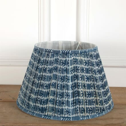 40cm Blue Cotton Lampshade LS6661373