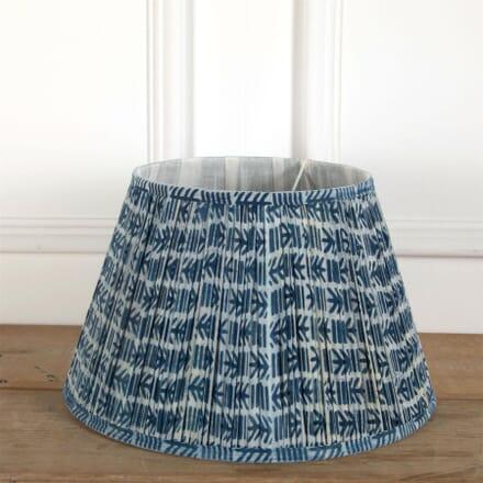 40cm Blue Cotton Lampshade LS6661373