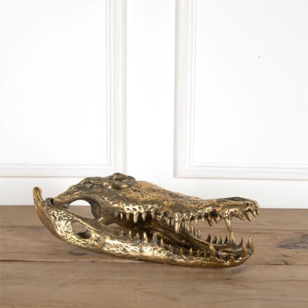 Bronze Crocodile Head DA5761718