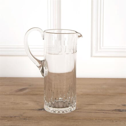 Tall French Heavy Crystal Jug DA5862038