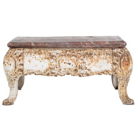 19th Century French Cast Iron Coffee Table CT4410164