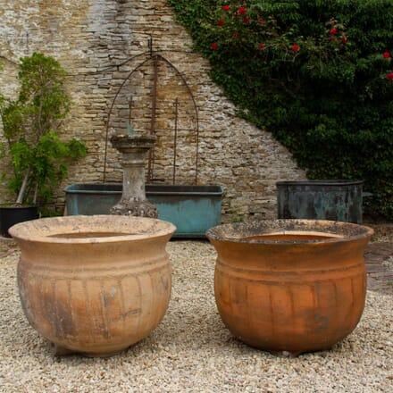 Pair of 19th Century Terracotta Pots GA1962316