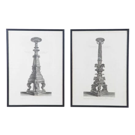 Pair of Pirenessi Prints WD4711917