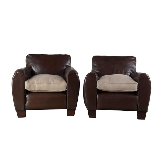 Pair of Transatlantic Liner Club Chairs CH1555821