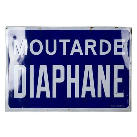 Large 'Moutarde Diaphane' Sign DA1559471