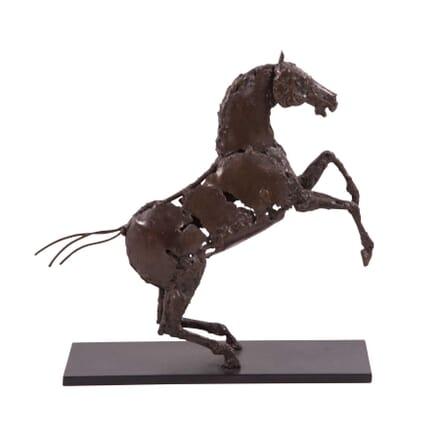 Chaval Cabre - Patrice Mesnier - Prancing Horse Sculpture DA2859592
