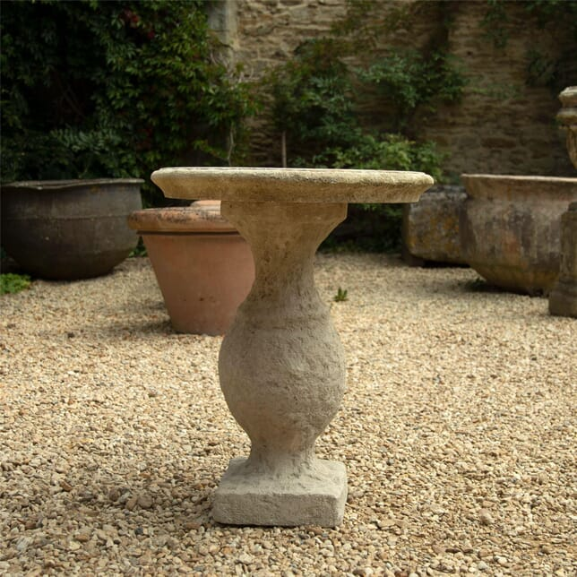 Oval Limestone Table GA1962568