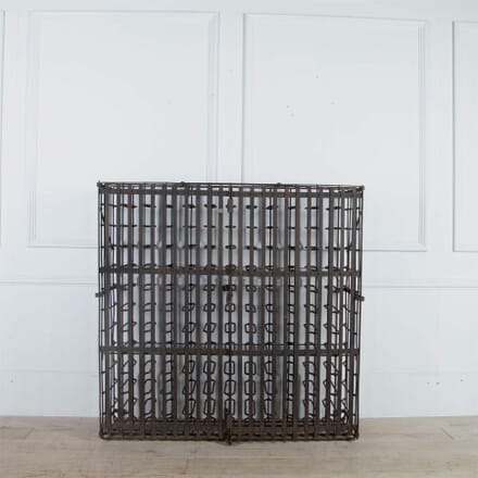French Late 19th Century Iron Wine Cage OF4461103