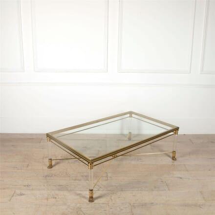 Mid Century Brass Coffee Table CT4861684