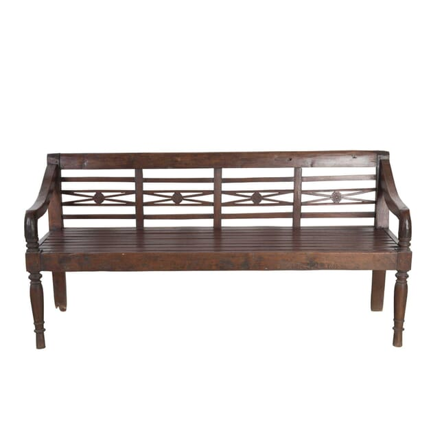 19th Century Fruitwood Bench GA2055755