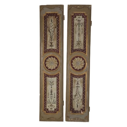 Pair of 18th Century Italian Shutters OF135965