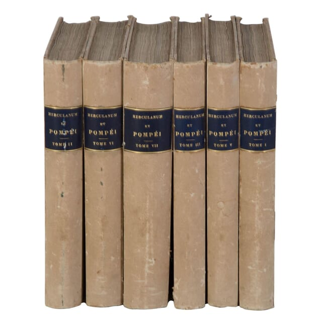 19th Century French Books - Herculanum & Pompei DA0110259