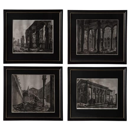 Four Engravings of Classical Rome WD135162