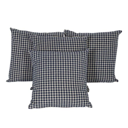 Antique Blue Linen Cushion RT0113210
