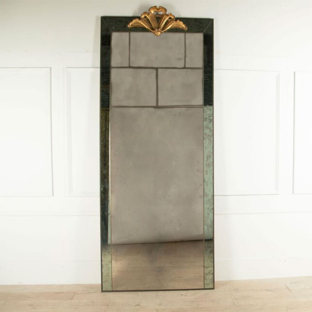 Huge Italian Deco Style Mirror MI0160768