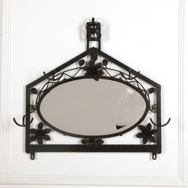1930'S Mirrored Coat/Hat Rack OF157025