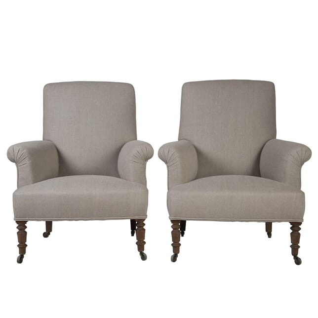Pair of French Armchairs CH1753762