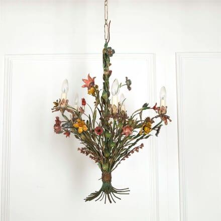 Italian 1940s Flower Chandelier LC607563