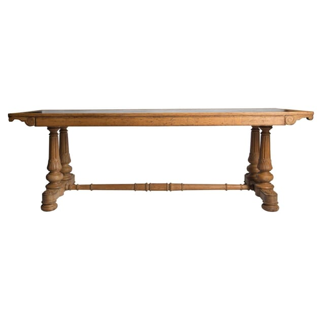 William IV Oak Library Table TS4555031