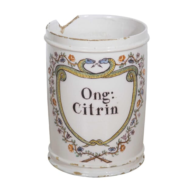 Large 18th Century Apothecary Jar DA9058190