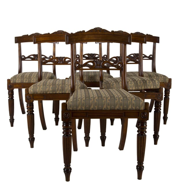 Regency Set of Six Dining Chairs CD0360281