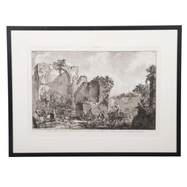 18th  Piranesi Lithograph Print WD3759095