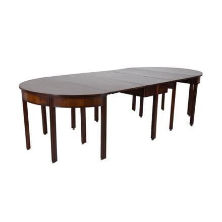 George III Mahogany Dining Table TD994506