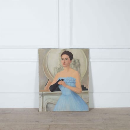 1950's Painting of a Lady WD7361137