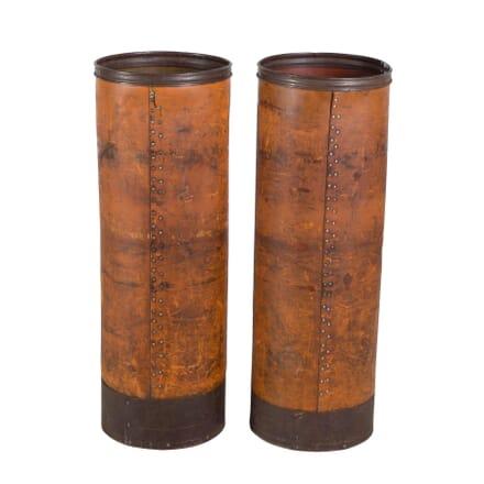 Industrial Faux Leather Columns DA3753620