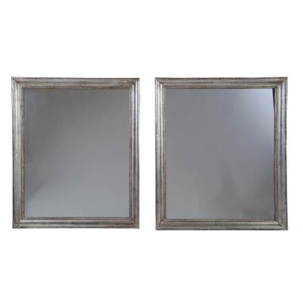 Pair of Silver Gilt Framed Mirrors MI1753576