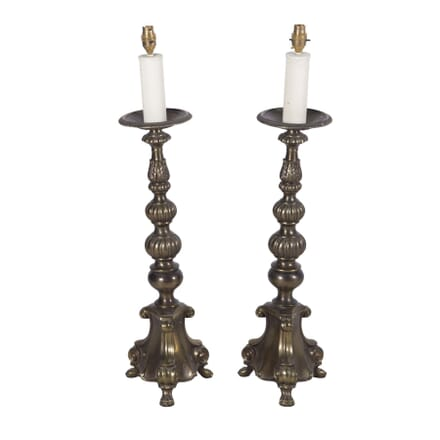 Pair of Prickett Style Lamps LT7260200