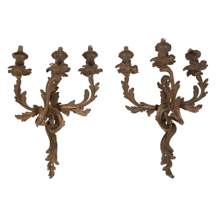 Pair of Louis XV Style French Wall Sconce LW2859601