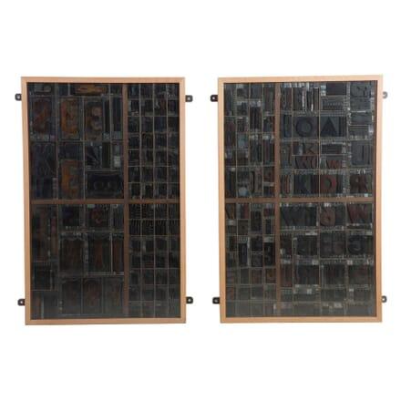 19th Century Printers Blocks WD0613249