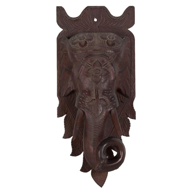 Elephant Carved Wall Hanging WD108738
