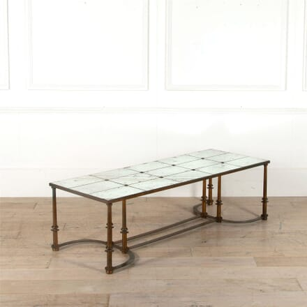 Distressed Mirror Coffee Table CT0462605