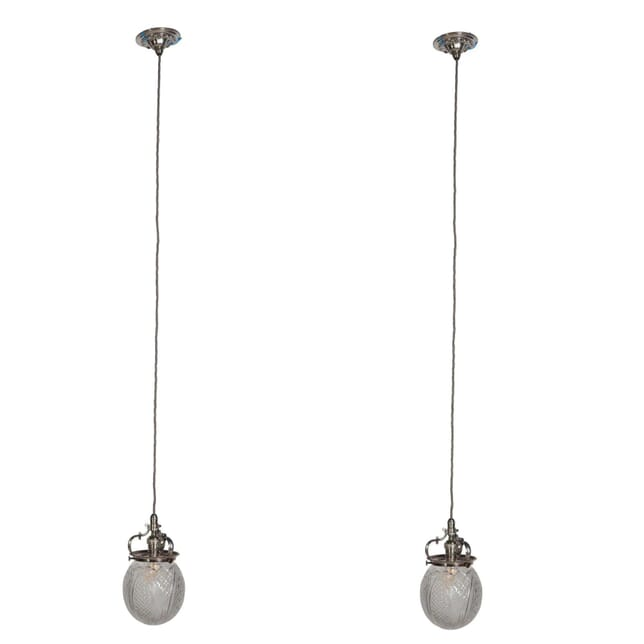 Pair of 19th Century Pendant Lights LC1055276