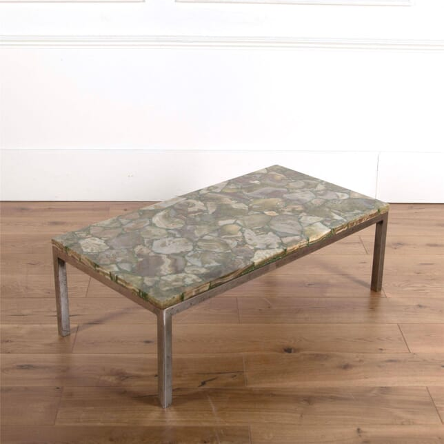 Italian 1970's Agate Coffee Table CT2861779