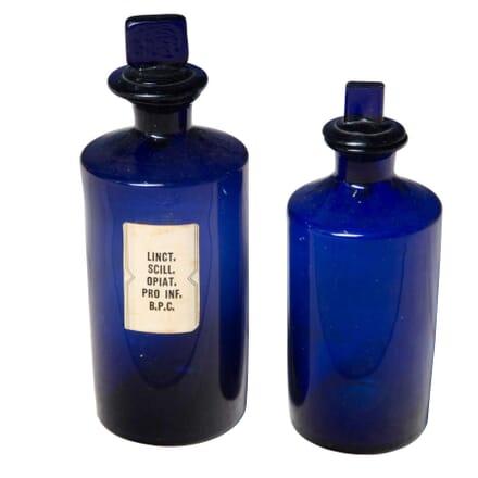 Pair of Chemist Bottles DA3555712