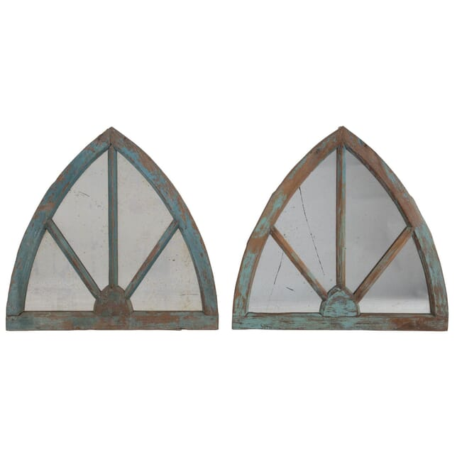 Pair of Arched Window Mirrors MI155688