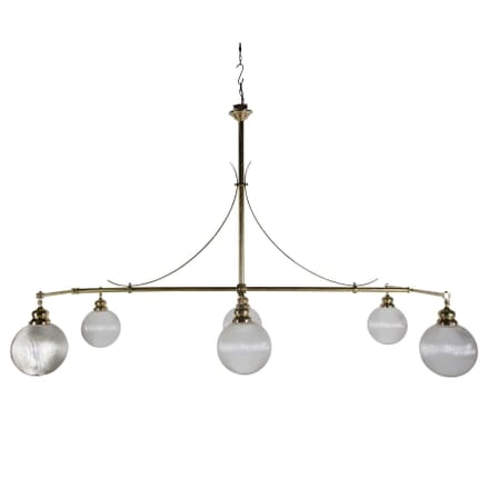 Six Branch 19th Century Billiard Light LC1054583