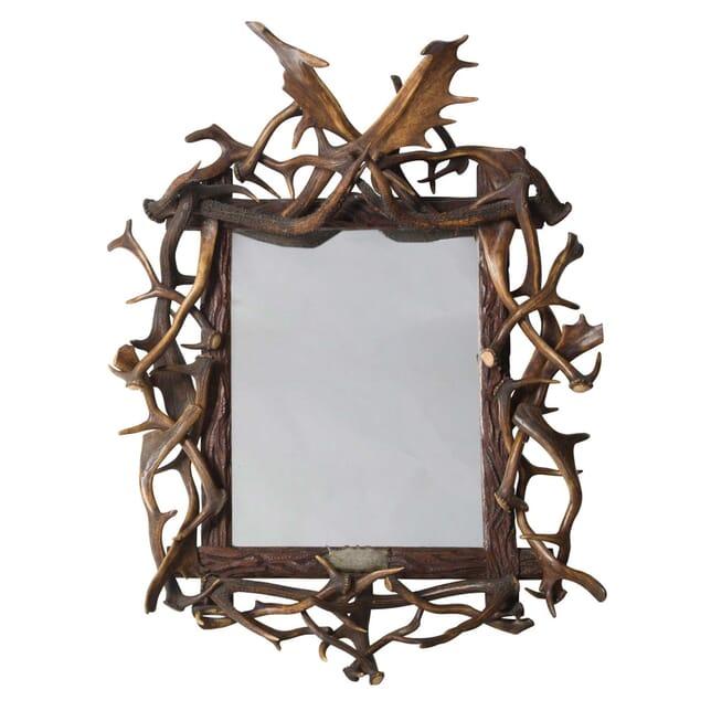 19th Century Antler Mirror MI5355963