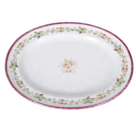 19th Century Turkey Server Plate DA4458156