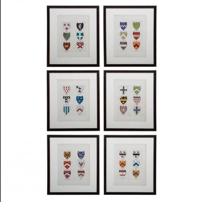 Original Engravings - Coats of Arms WD614158