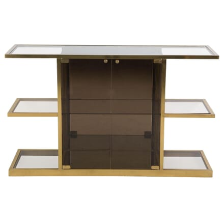 Brass and Glass Cabinet BK309709