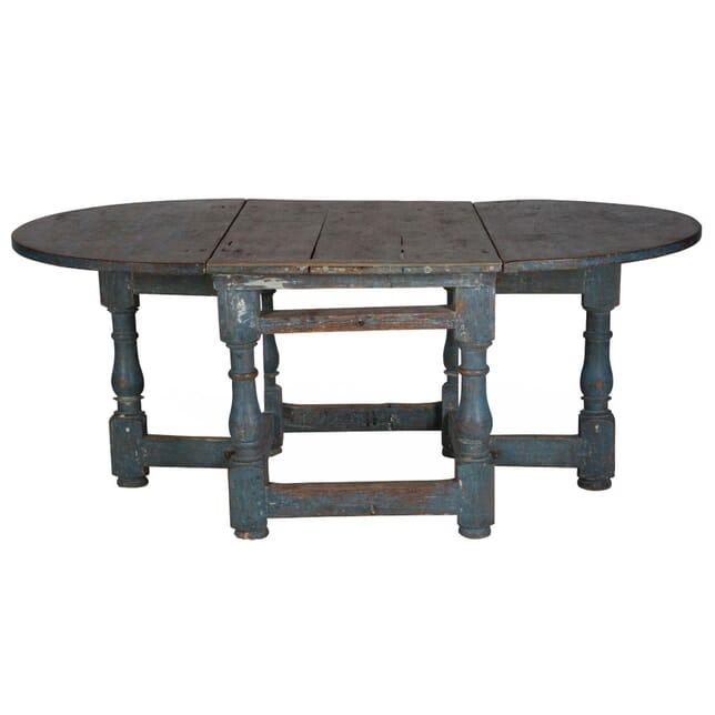 18th Century Swedish Dining Table TD015207