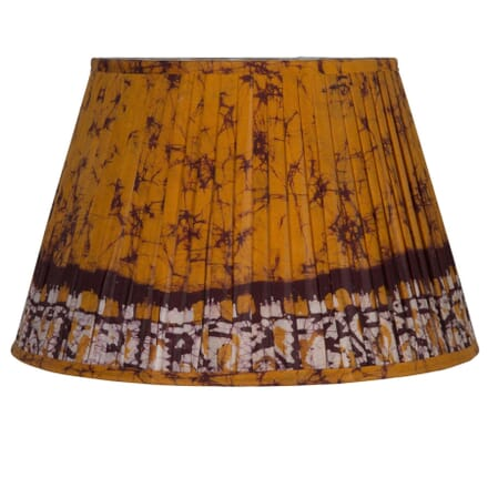 45cm Orange Silk Lampshade LS6659422
